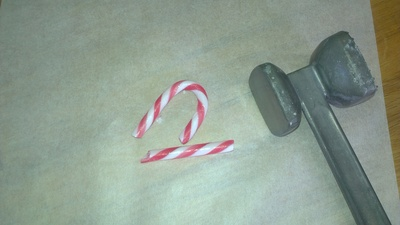 chocolate peppermint spoons