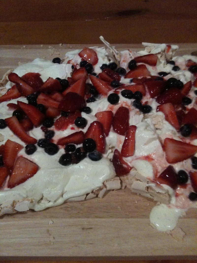 Finished product  - Berry Mess