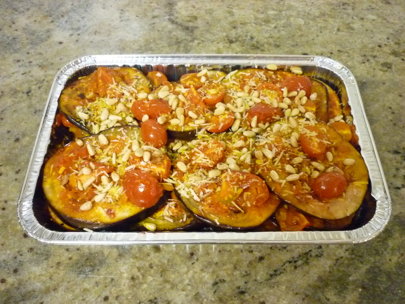 Layered Eggplant and Tomatoes