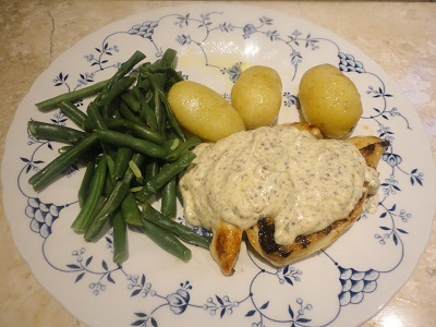 Grainy Mustard  - Griddled Chicken with a Creamy Mustard Sauce