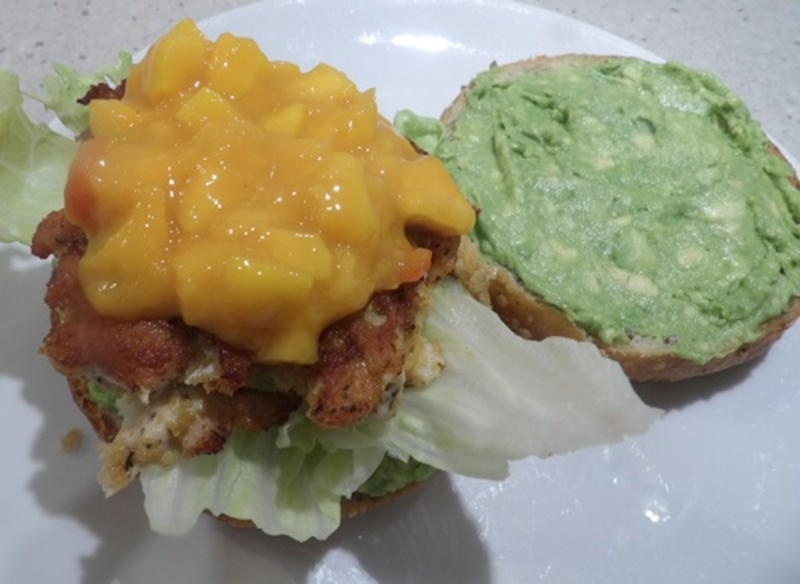 mango,salsa,for,burger