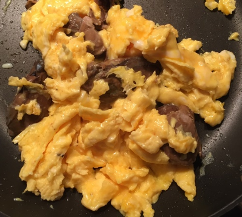 mixing,eggs,with,milk,or,cream  - Breakfast - Brunch Ideas No. 3 - Eggs and Oysters