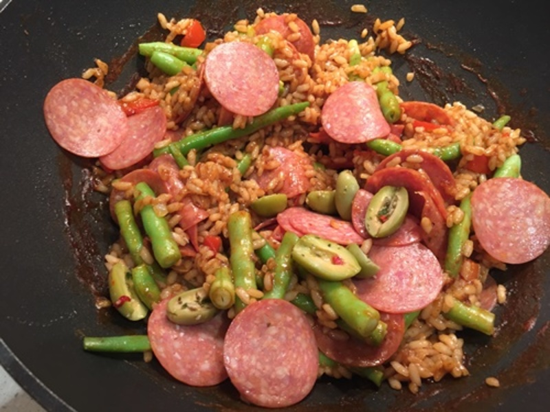 adding,risotto,to,other,ingredients