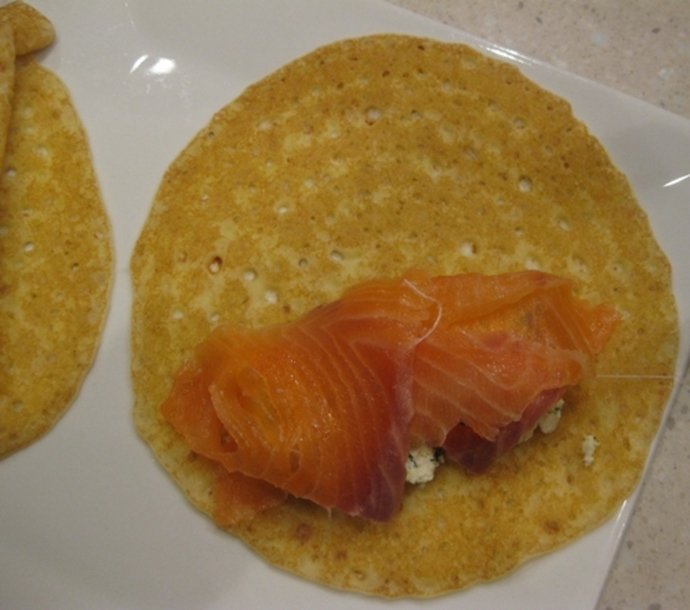 adding,smoked,salmon