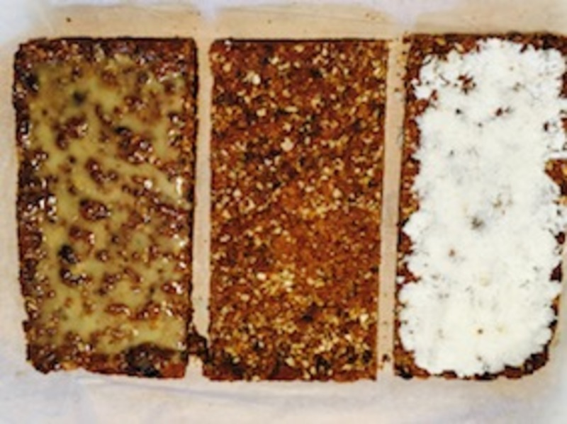 Golden icing
