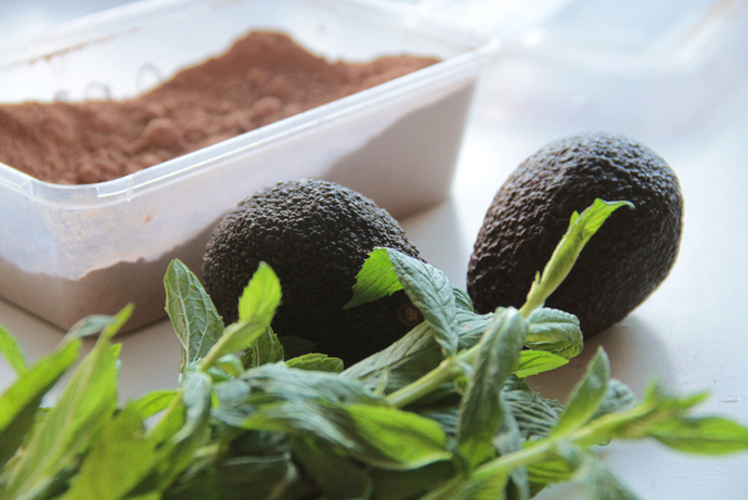 Raw chocolate mousse, healthier dessert option