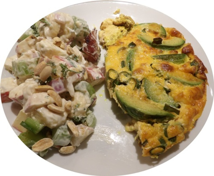 cut,slice,of,avocado,mushroom,curry,quiche