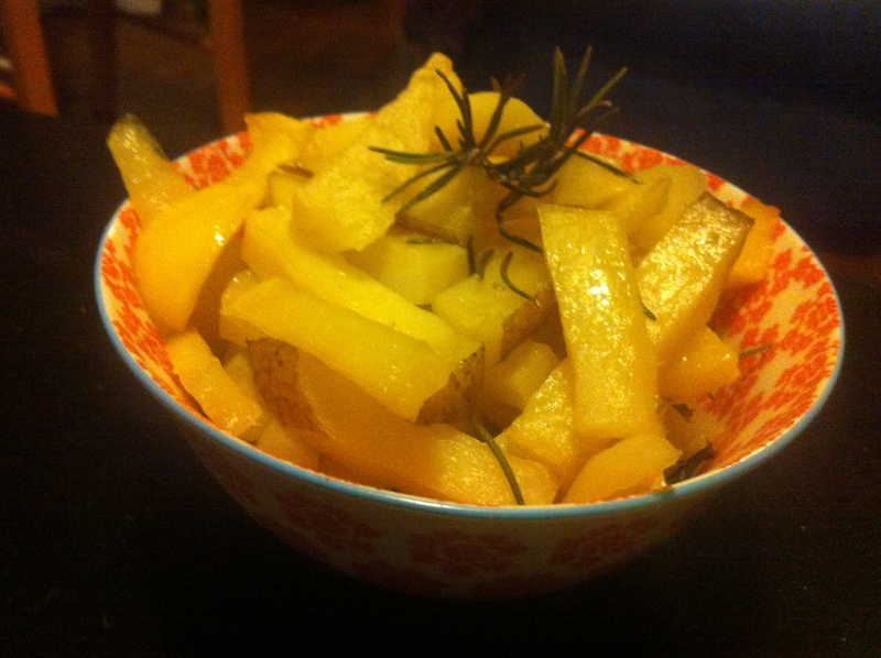 Chips in the pot