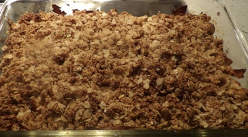cutting,middle,out,of,apples  - Low Calorie, No Pastry Apple Crisp Dessert