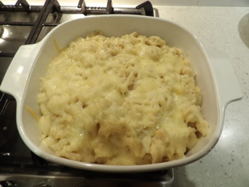 baked,spatzlea,or,German,noodles