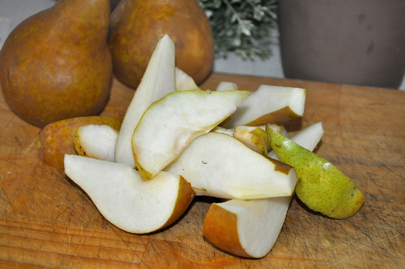 Balsamic Roasted Pears