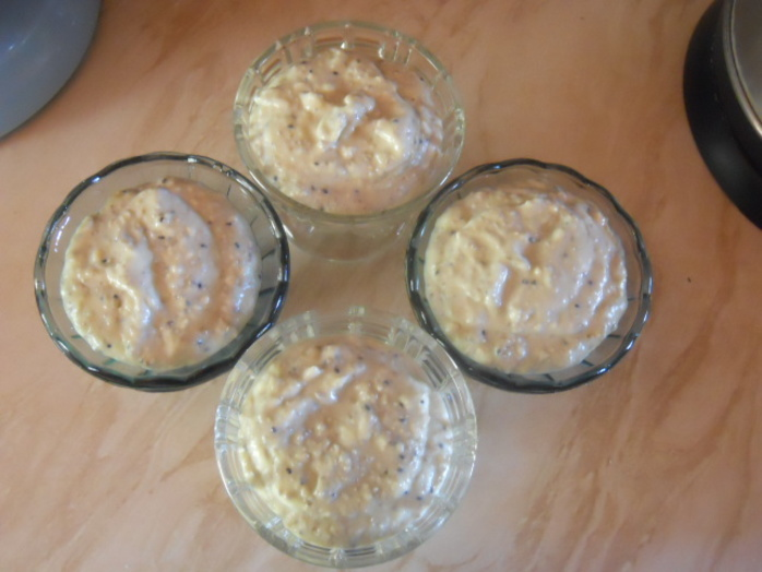 banana tofu pudding