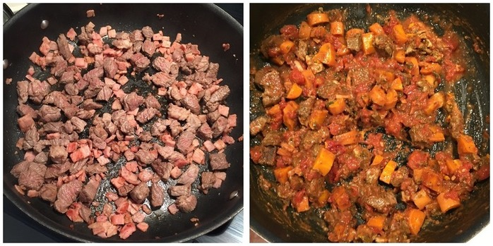 Beef And Bacon Pie  Montage