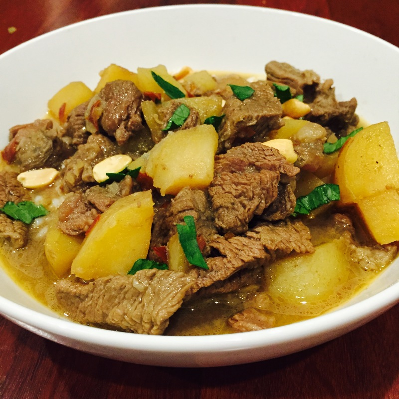 Beef Massaman Melts In Your Mouth