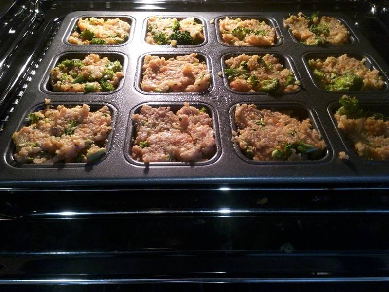 Bites in Oven