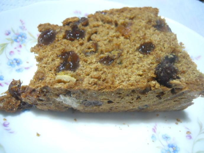 boiled fruit cake, fruit cake, cake