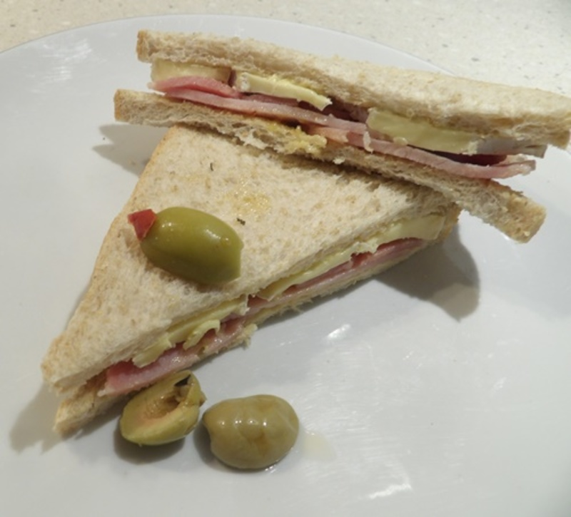 brie,and,bacon,sandwich  - Simple Lunch of Brie and Bacon Sandwiches