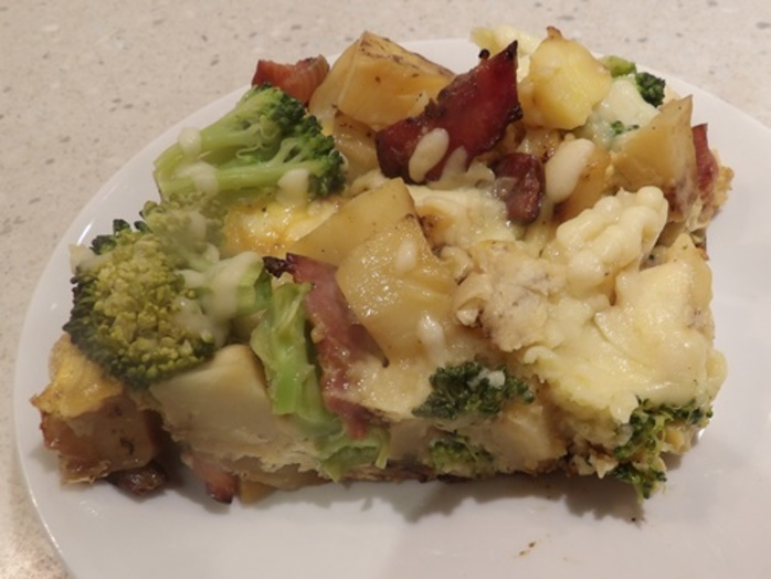 broccoli,and,potato,frittata