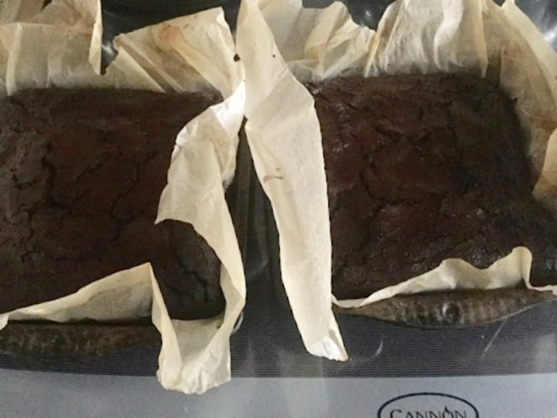 Brownies, fondue, gluten free, chocolate 