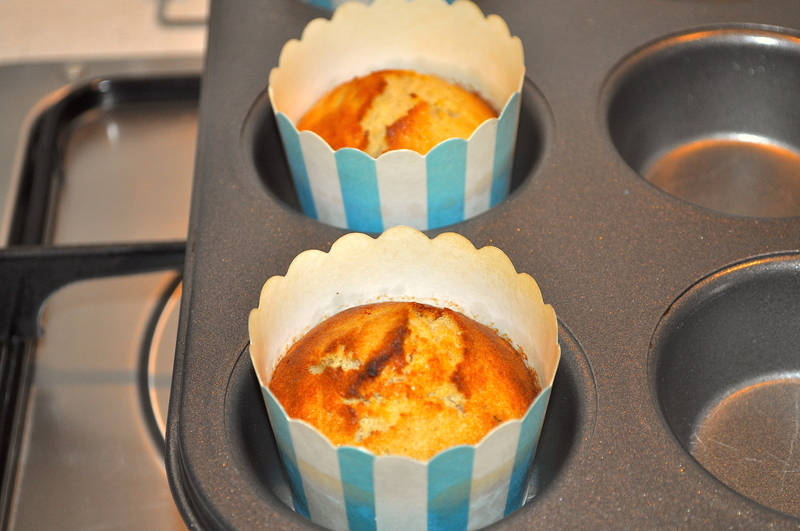 Buckwheat And Apple Cup Cakes