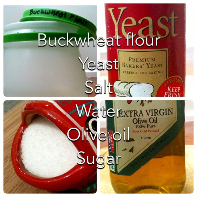 buckwheat pizza dough ingredients