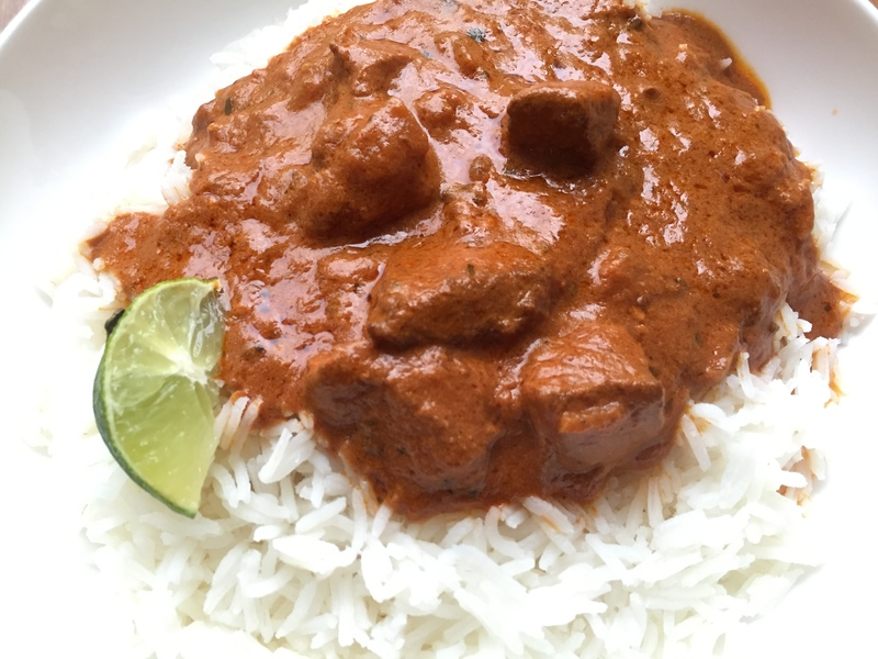Butter chicken, slow cooker, Indian, curry, crockpot  - Indian Style Slow Cooker Butter Chicken