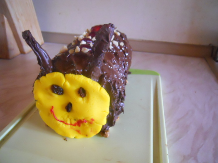 Homemade Caterpillar Cake Recipe
