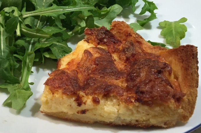 cheese,charlotte,with,chili,and,rocket