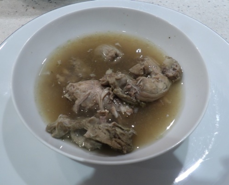 chicken,soup,with,necks,and,giblets