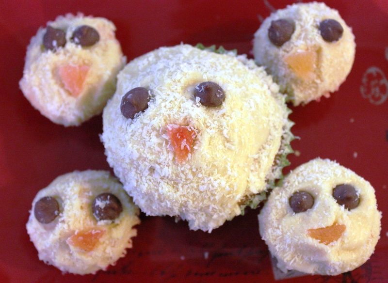 chicks  - Easter Chick Cupcakes