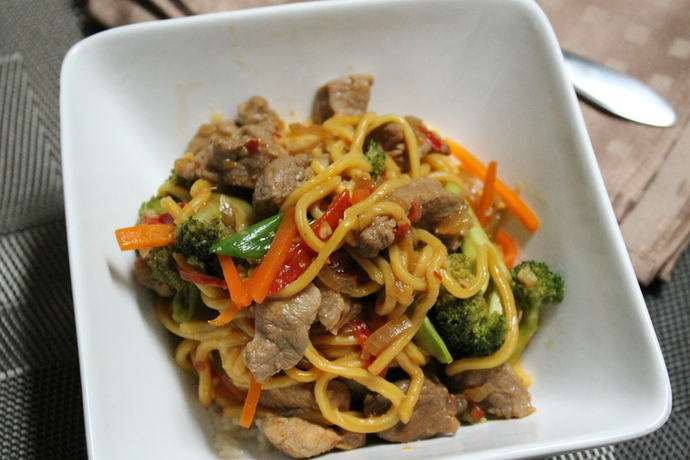 Chilli Pork Stir Fry