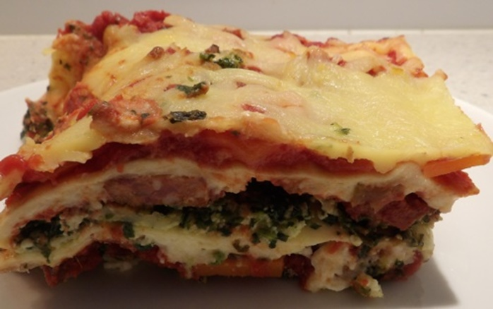 chorizo,spinach,and,three,cheese,lasagne
