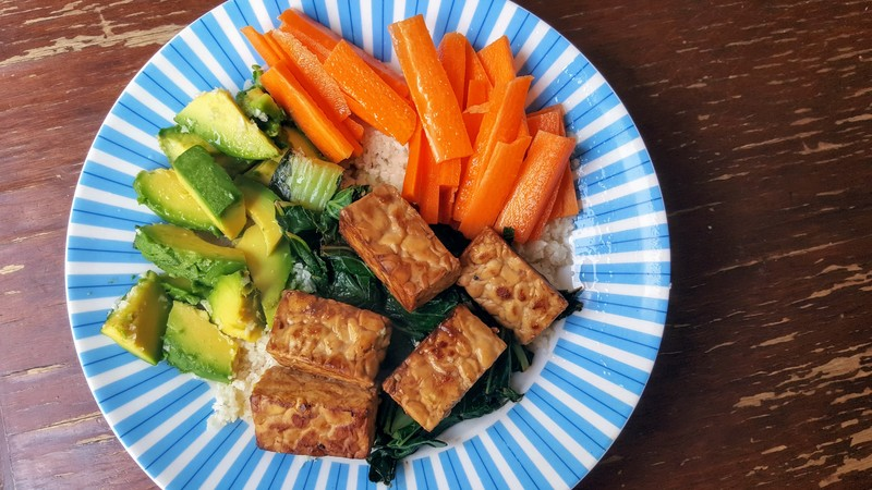 Chunky Marinated Tempeh