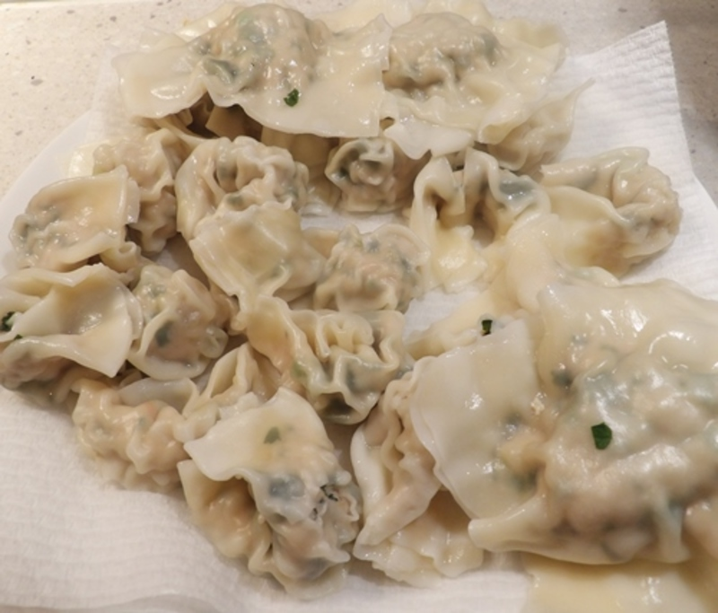 cooked,large,ravioli