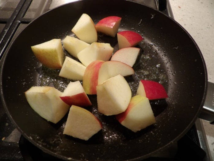 cooking,shallots,and,celery,for,apple,cider,chicken