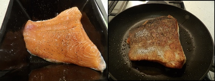 cooking,the,salmon,skin,side,down
