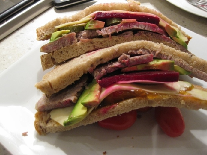 corned,beef,lovely,sandwich