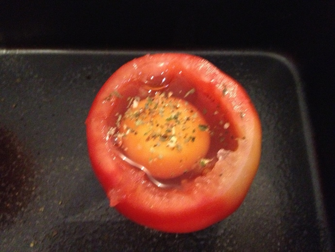 Hollow out your tomatoes