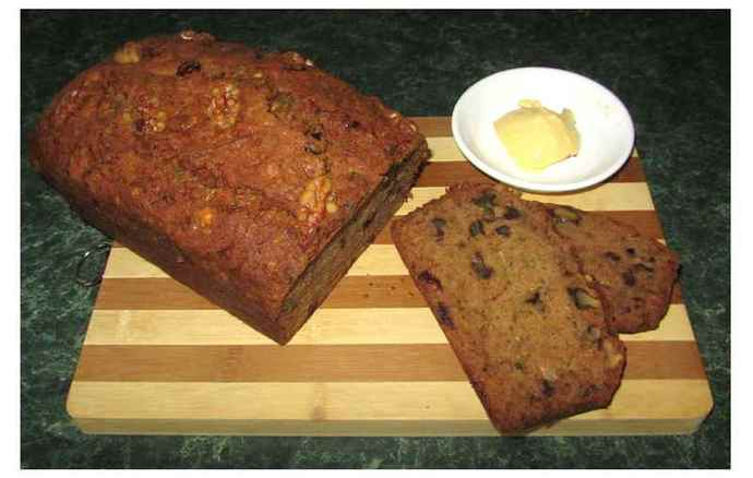 Cranberry, Zucchini & Walnut Bread