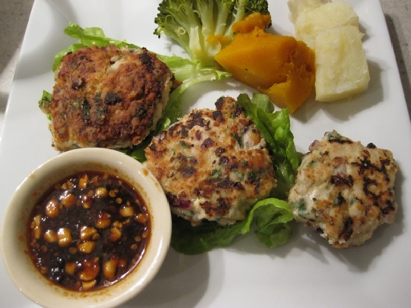 cooked,chicken,cream,cheese,cakes