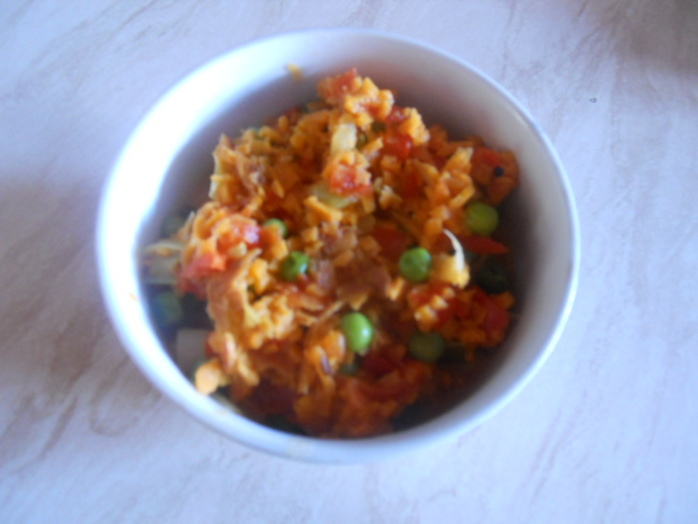 curried sweet potato rice