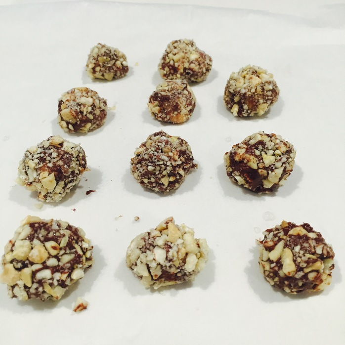 Delicious Snickers Balls
