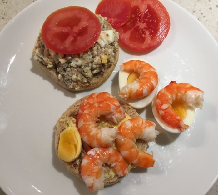eggs,with,prawns
