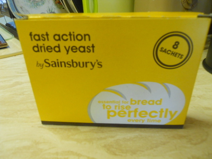 fast action yeast, yeast, sainsbury's