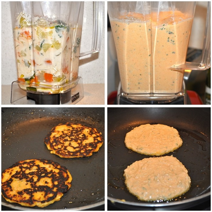 Fennel Mint Sweet Potato Tortillas Montage