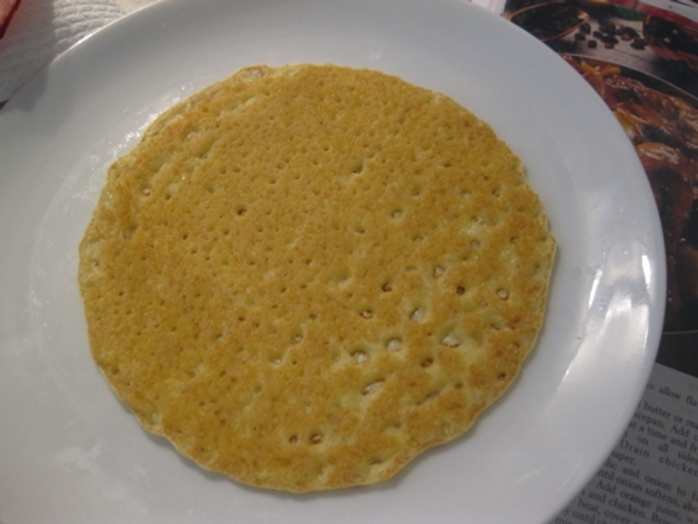 finished pancake