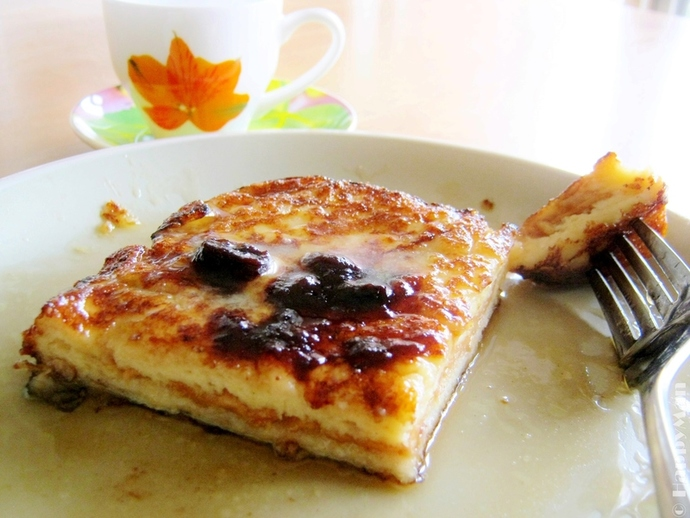 French-style Toast with Peanut Paste Filling