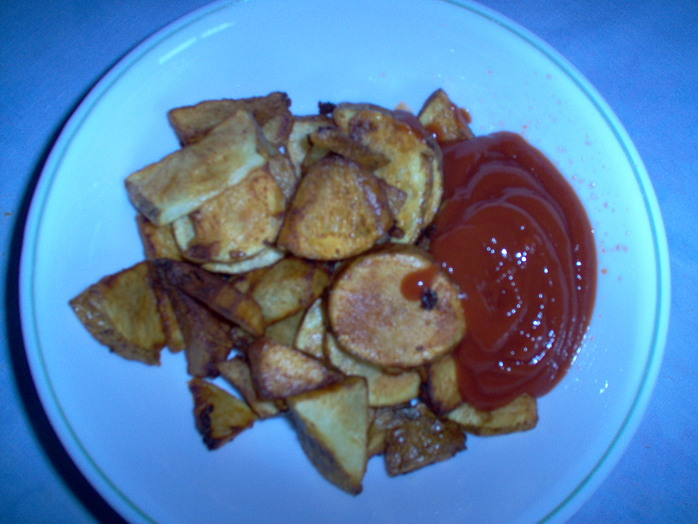 Fried Potato Slices