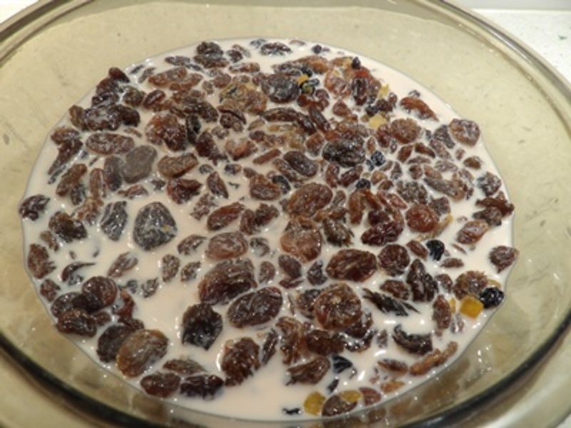 fruit,soaking,in,iced,coffee