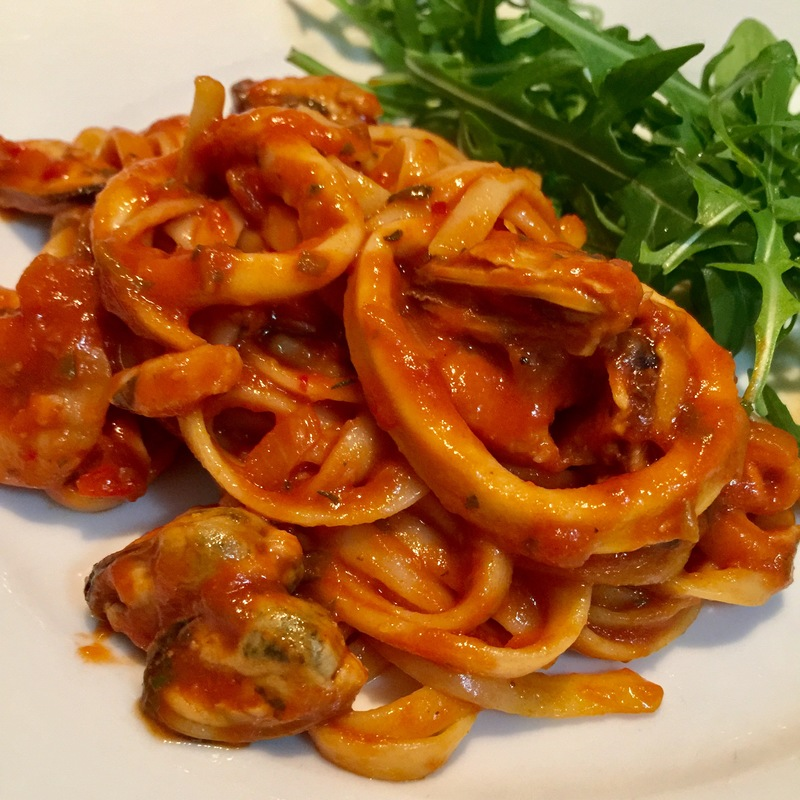 Chilli Seafood Linguine